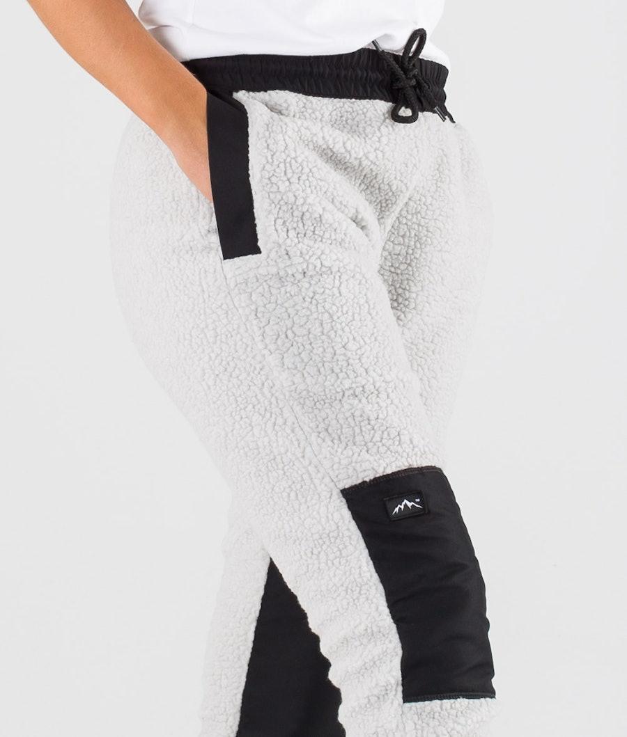 Dope Ollie W Naisten Fleecehousut Black/Light Grey