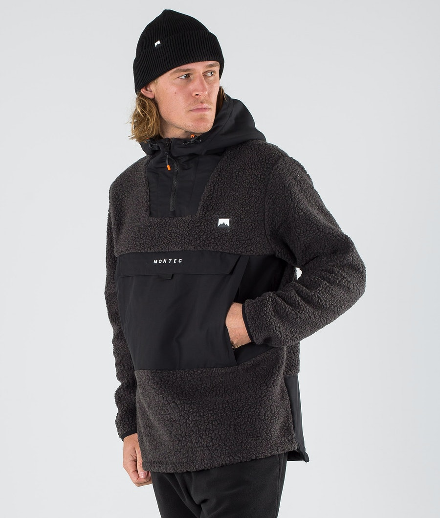 Montec Lima Fleece Hoodie Black/Phantom