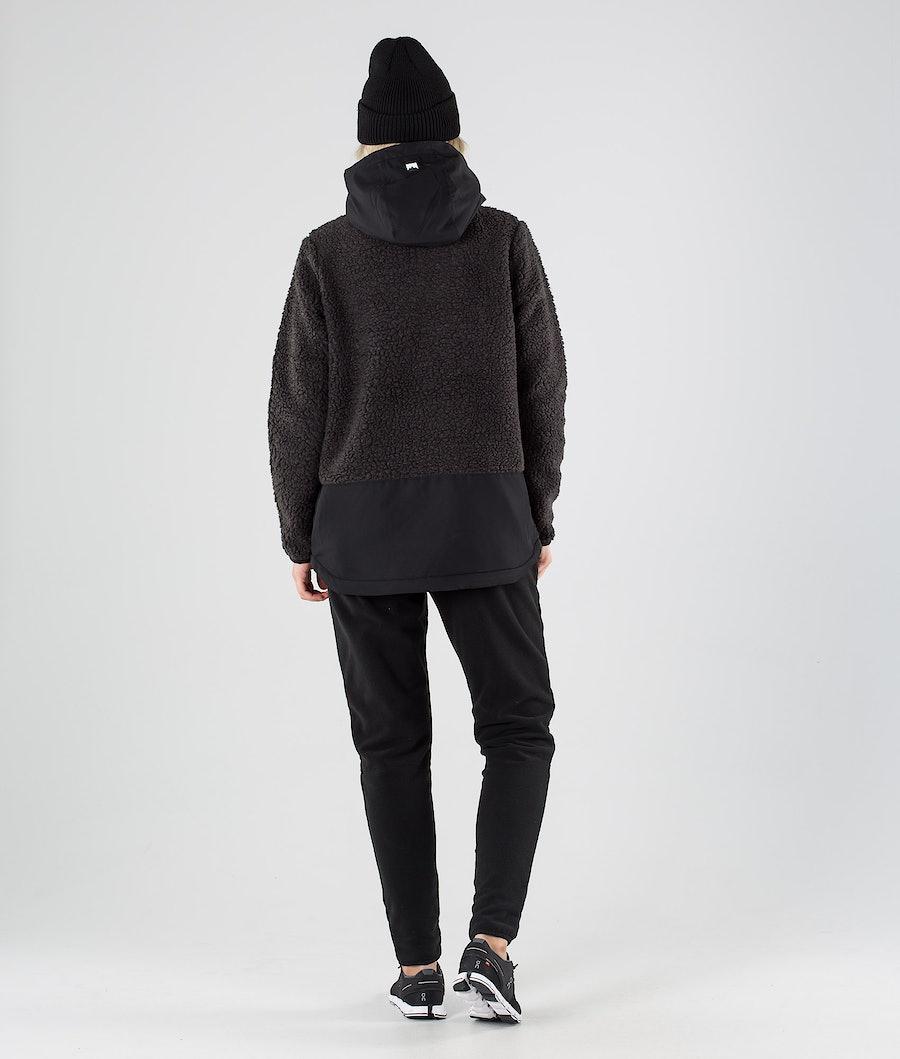 Montec Lima W Fleece Hoodie Dames Black/Phantom