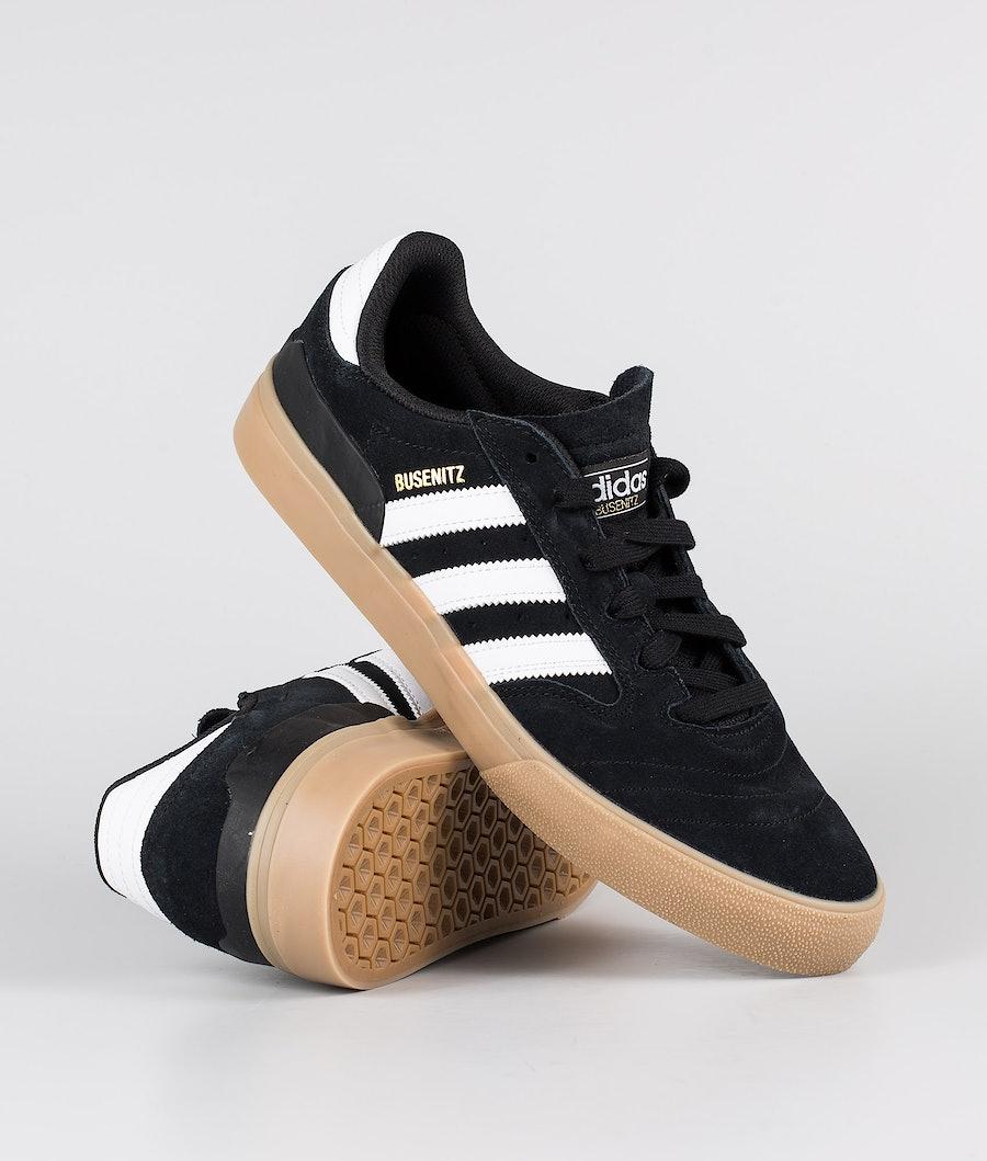 Adidas Skateboarding Busenitz Vulc II Shoes Core Black/Footwear White/Gum4