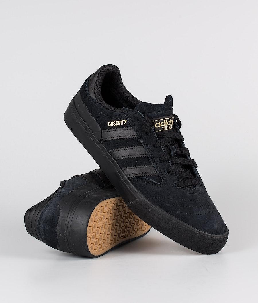 Adidas Skateboarding Busenitz Vulc II Skor Core Black/Core Black/Gum4