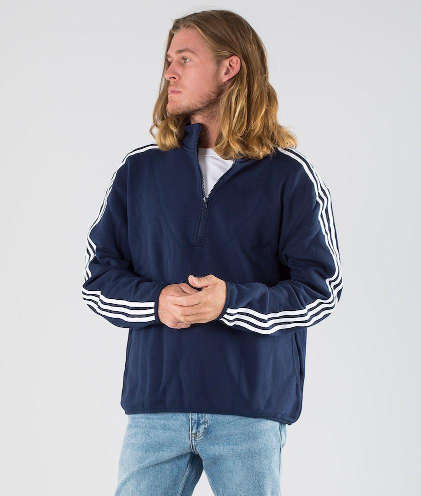 Adidas Skateboarding Terry Track Sweatshirt Collegiate Navy/White
