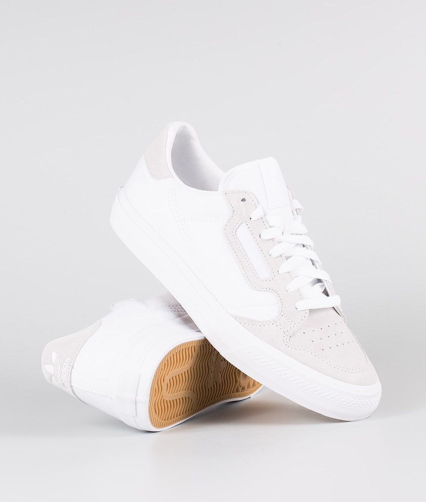 Adidas Originals Continental Vulc Skor Footwear White/Footwear White/Footwear White