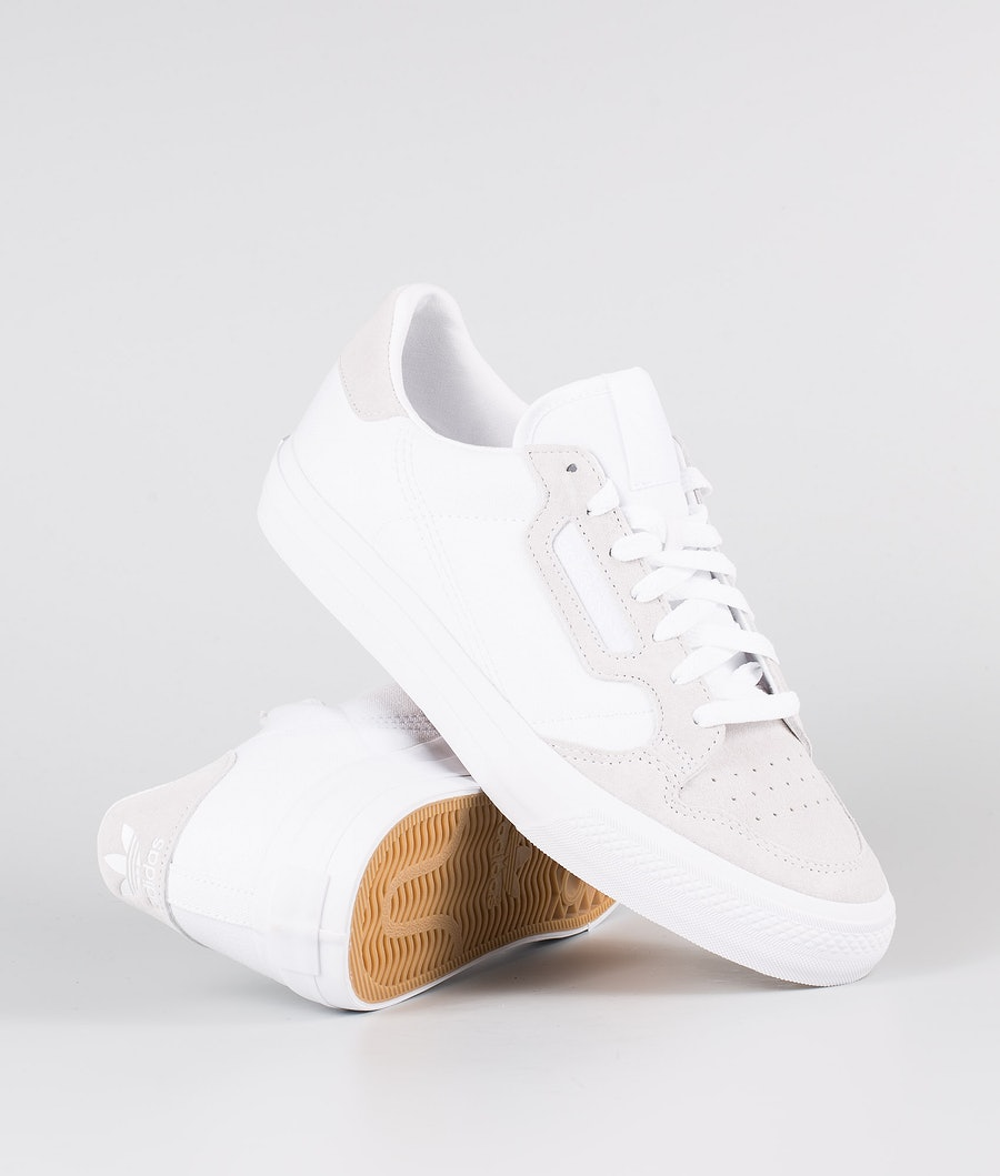 Adidas Originals Continental Vulc Shoes Footwear White/Footwear White/Footwear White