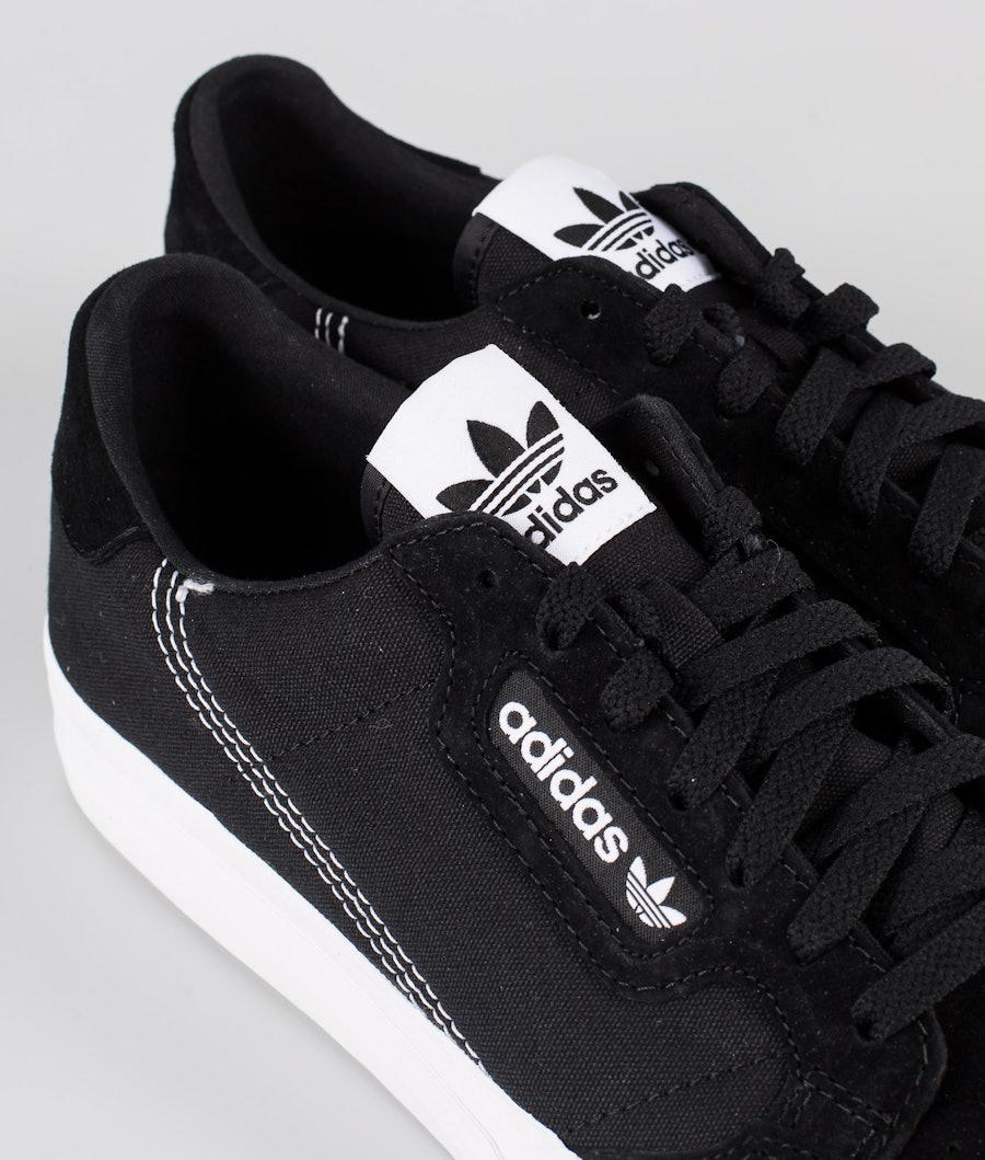 Adidas Originals Continental Vulc Skor Core Black/Footwear White/Core Black