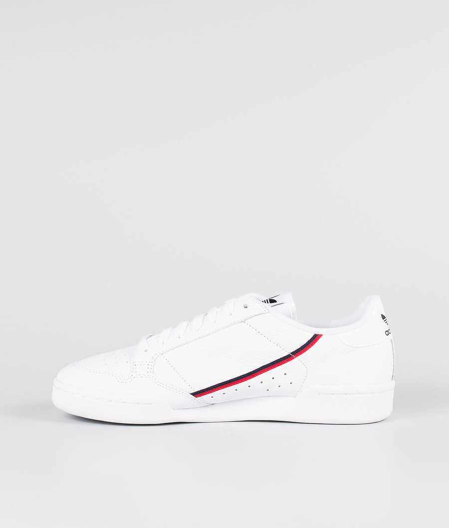 Adidas Originals Continental 80 Skor Footwear White/Scarlet/Collegiate Navy