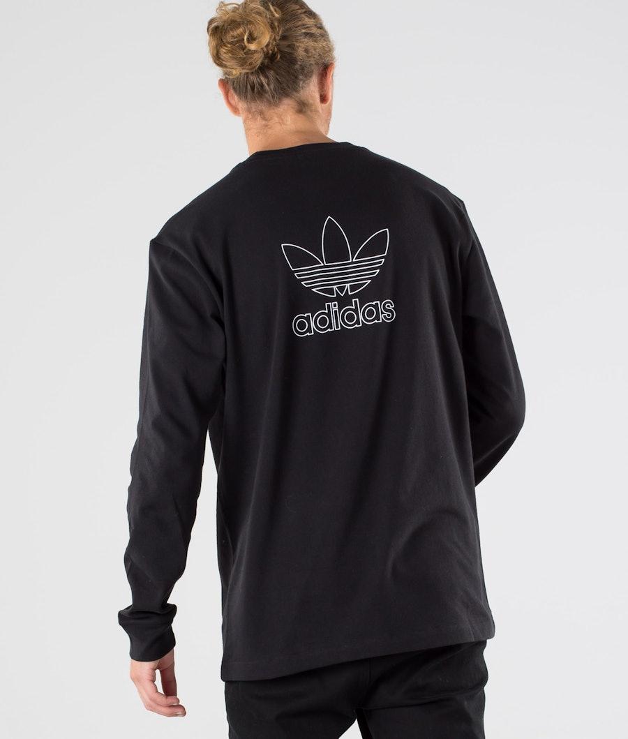 Adidas Originals B+F Trefoil Longsleeve Black/White