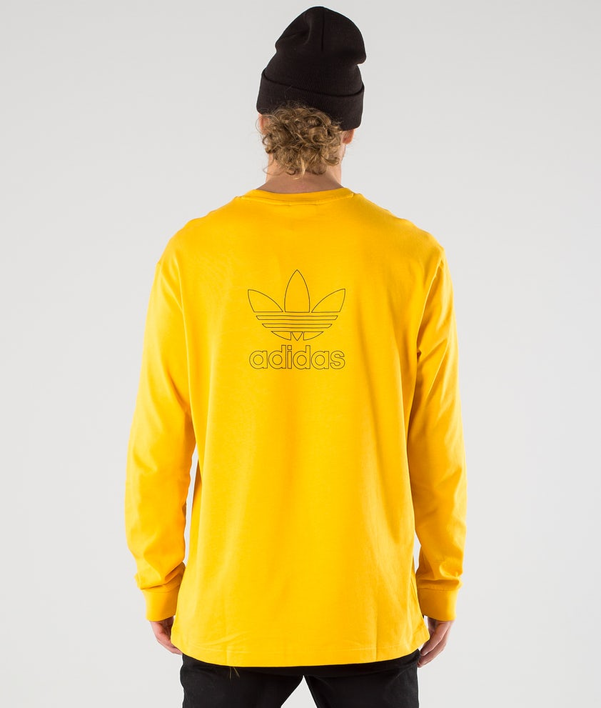 Adidas Originals B+F Trefoil T-shirt Manches Longues Active Gold/Black