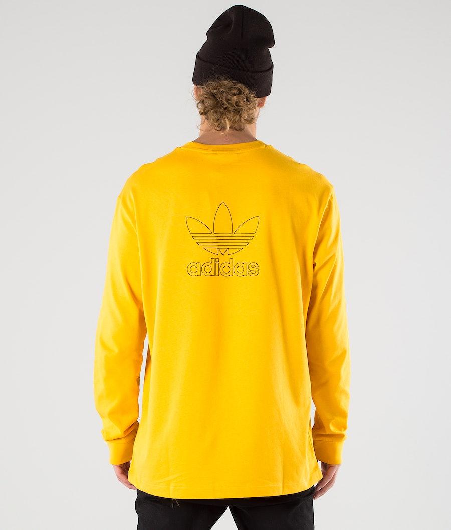 Adidas Originals B+F Trefoil Longsleeve Active Gold/Black
