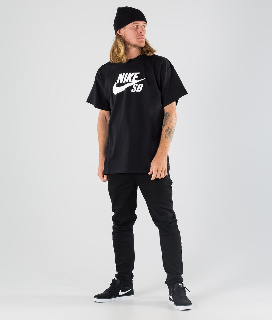 Nike SB Skate Tee Logo T-shirt Black/White