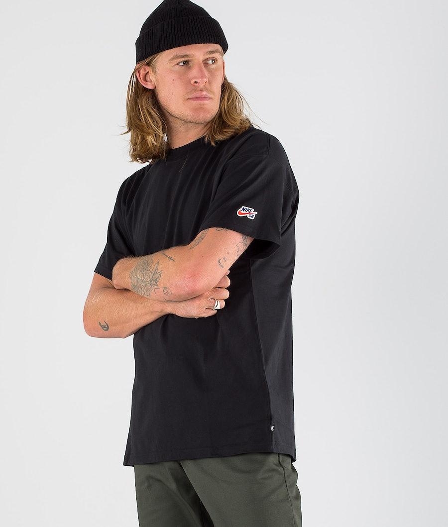 Nike SB Tee Essential T-paita Black