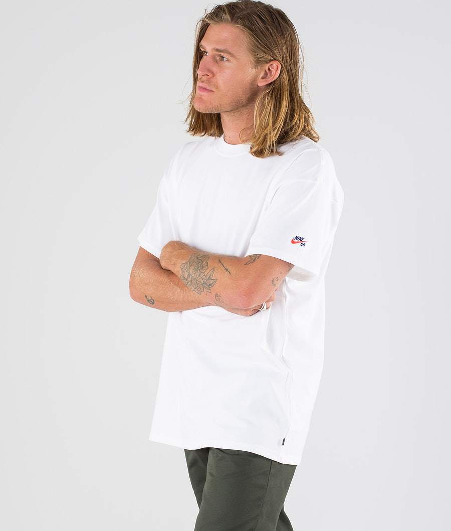 Nike SB Tee Essential T-shirt White