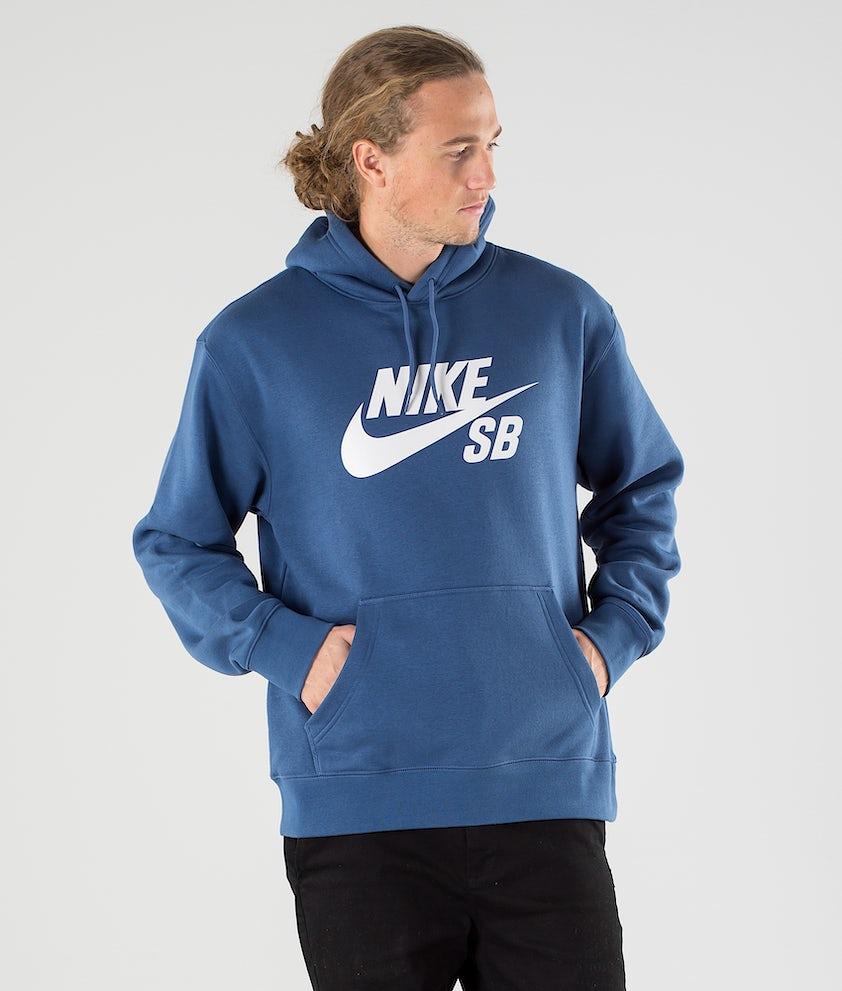 Nike SB Icon Po Essential Sweats à capuche Mystic Navy/Vast Grey