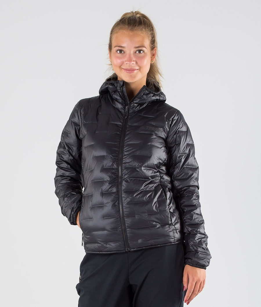 Adidas Terrex Light Down Outdoor Jacket Black