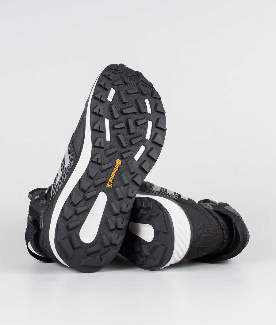 Adidas Terrex Terrex Folgian Hiker Mid GTX Skor Dam Core Black/Grey Four/Green Tint