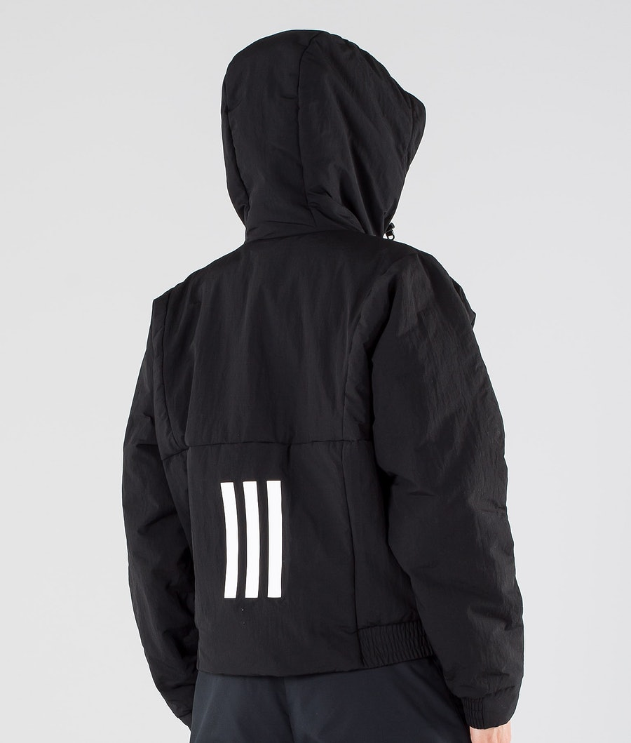 Adidas Terrex BTS Hooded Women's Jacket Black/White