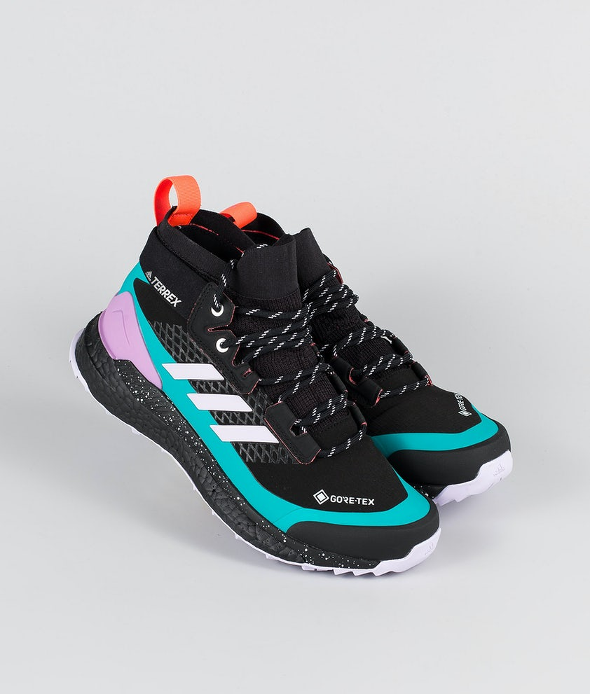 Adidas Terrex Terrex Free Hiker GTX Shoes Core Black/Purple Tint/Signal Pink