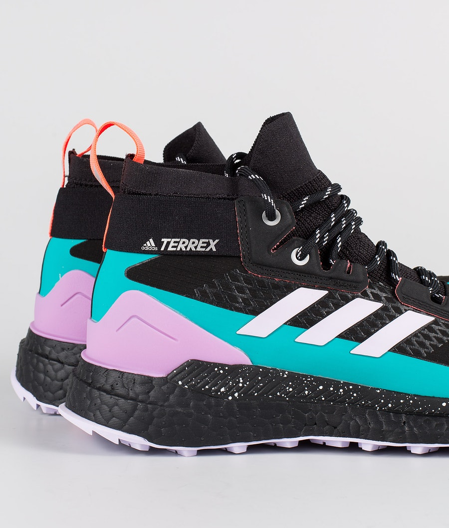 Adidas Terrex Terrex Free Hiker GTX Women's Shoes Core Black/Purple Tint/Signal Pink