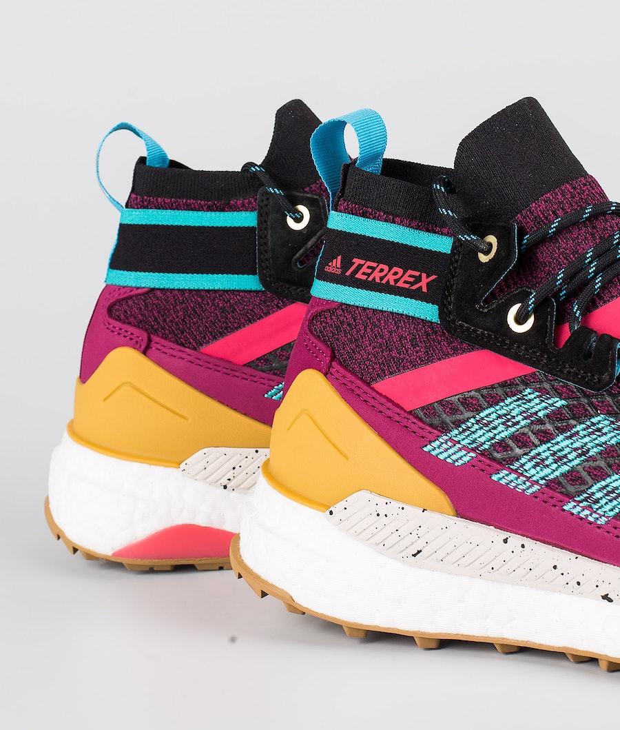 Adidas Terrex Terrex Free Hiker Blue Skor Dam Power Berry/Alumin/Core Black