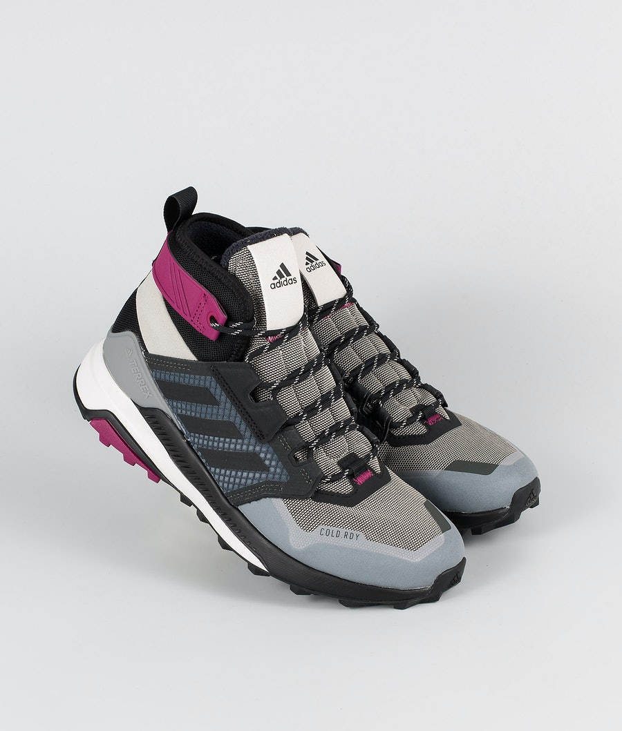 Adidas Terrex Terrex Trailmaker Mid CRDY Sko Metal Grey/Core Black/Power Berry