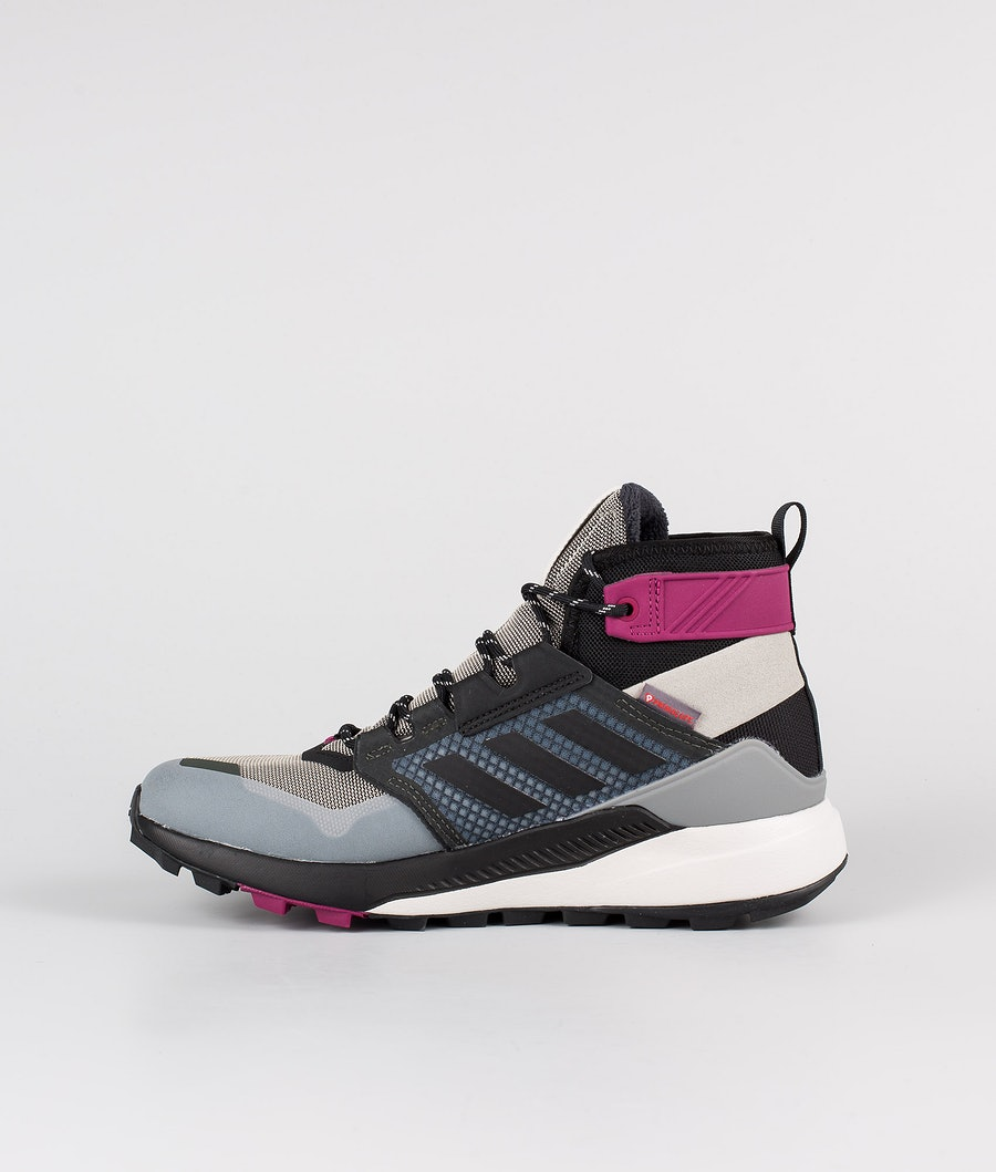Adidas Terrex Terrex Trailmaker Mid CRDY Women's Shoes Metal Grey/Core Black/Power Berry