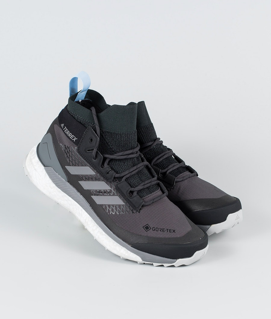 Adidas Terrex Terrex Free Hiker GTX Shoes Carbon/Grey Four/Globlu