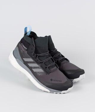 granero saludo calificación  Adidas Terrex Terrex Free Hiker GTX Shoes Carbon/Grey Four/Globlu -  Ridestore.com