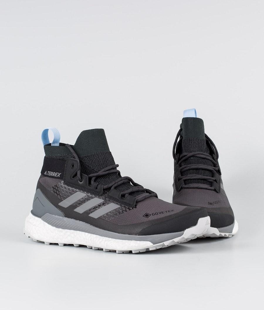 Adidas Terrex Terrex Free Hiker GTX Skor Dam Carbon/Grey Four/Globlu
