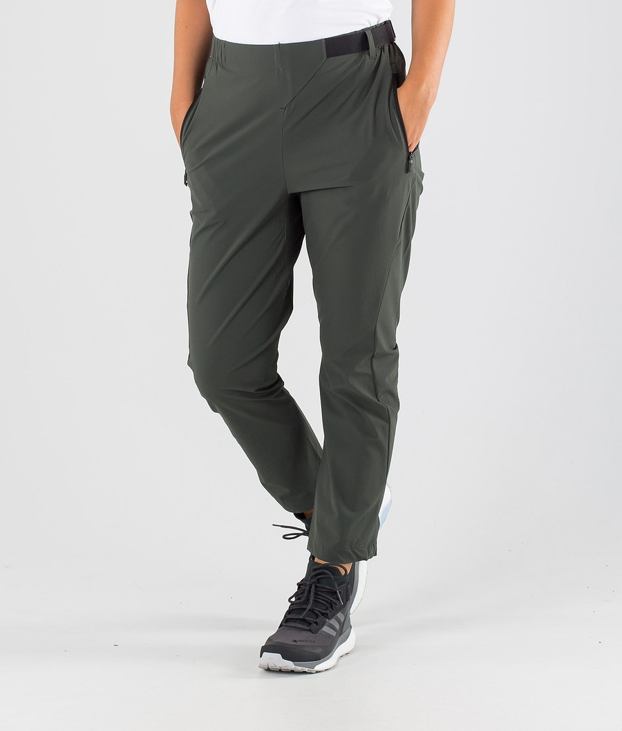 Adidas Terrex Hike Outdoor Trousers Legend Earth