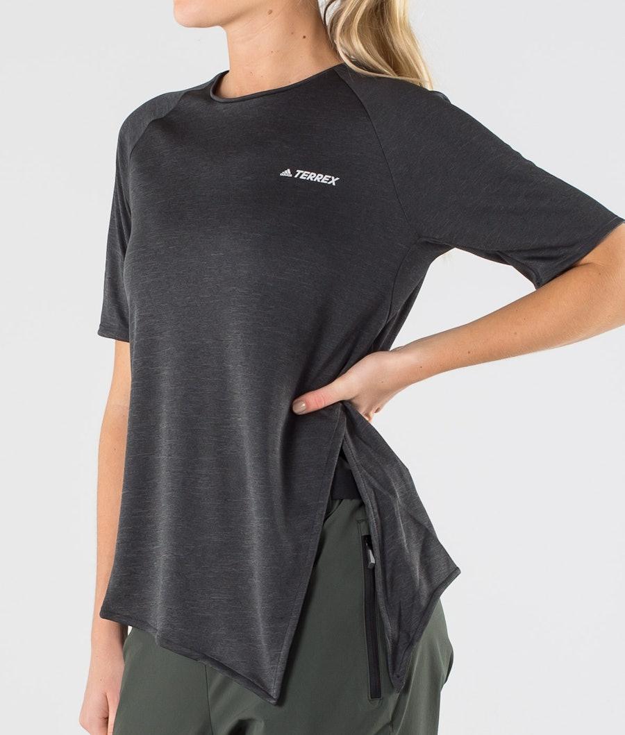 Adidas Terrex Hike Women's T-shirt Black