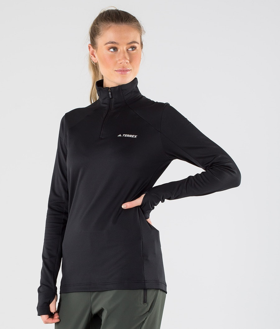Adidas Terrex EveryH 1/2 Zip Trui Black