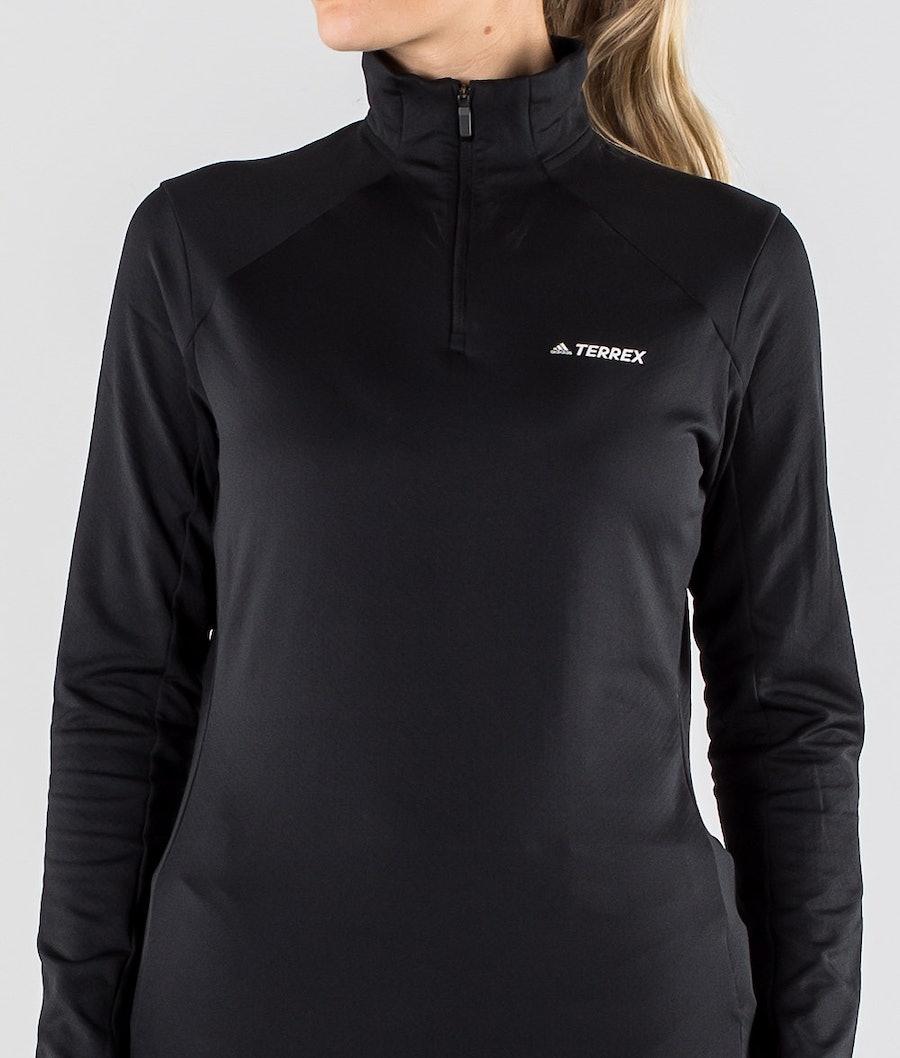 Adidas Terrex EveryH 1/2 Zip Felpa Donna Black