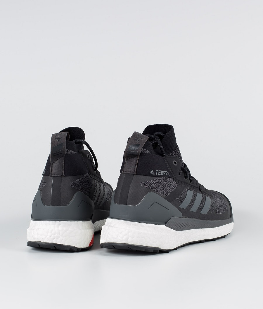 Adidas Terrex Terrex Free Hiker Skor Core Black/Grey Six/Active Orange