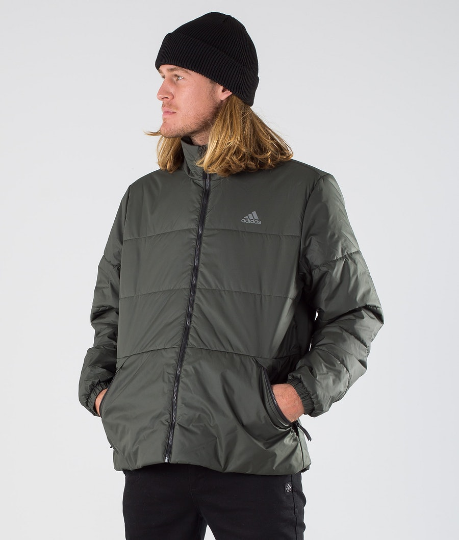 Adidas Terrex BSC 3S Insulated Jacke Legend Earth