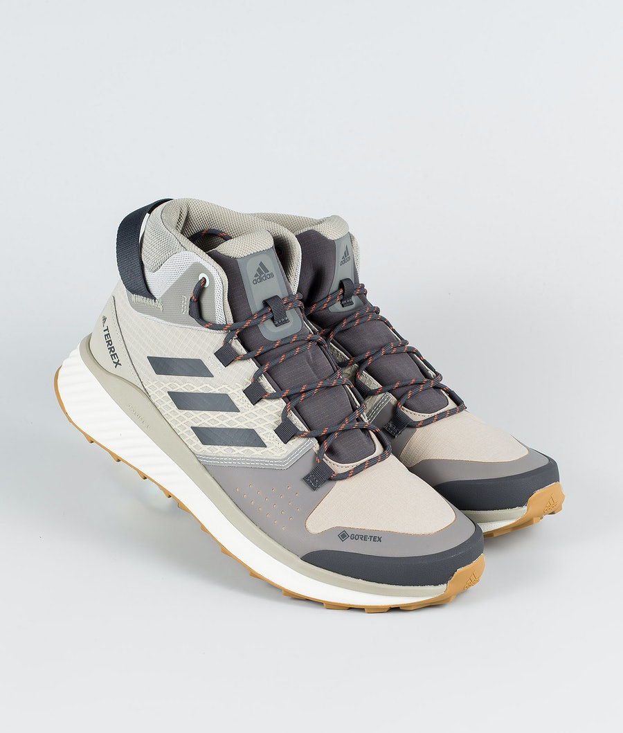 Adidas Terrex Terrex Folgian Hiker Mid GTX Chaussures Feather Grey/Dgsogr/Green Tint