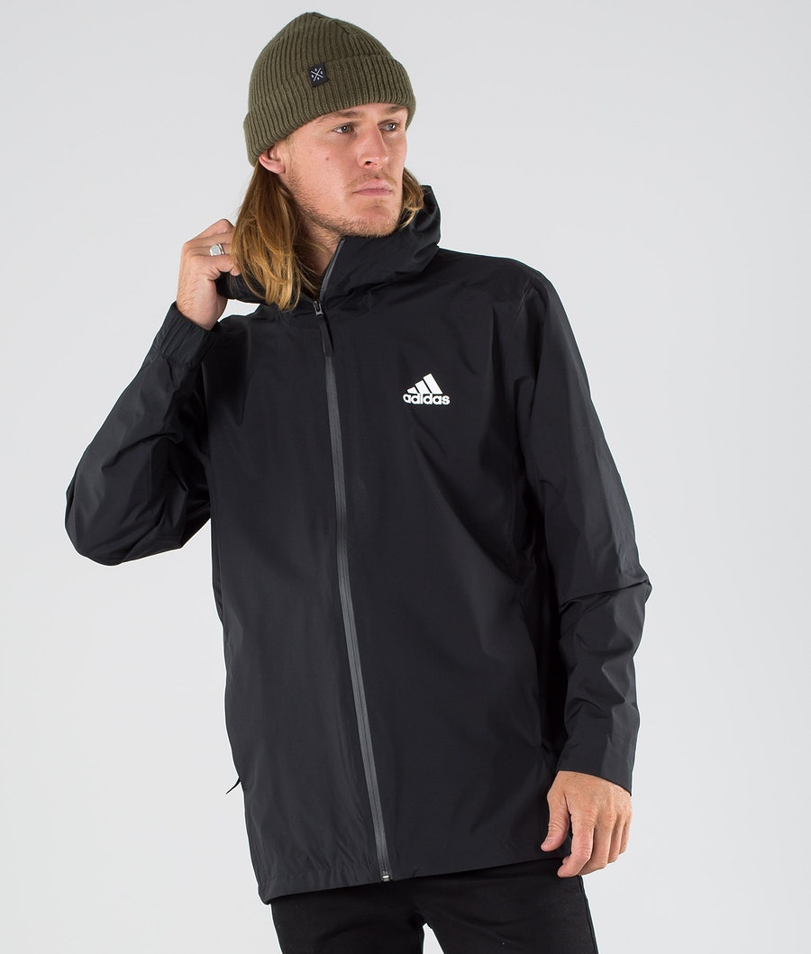 Adidas Terrex BSC 3 Stripes Rain Ready Veste Black