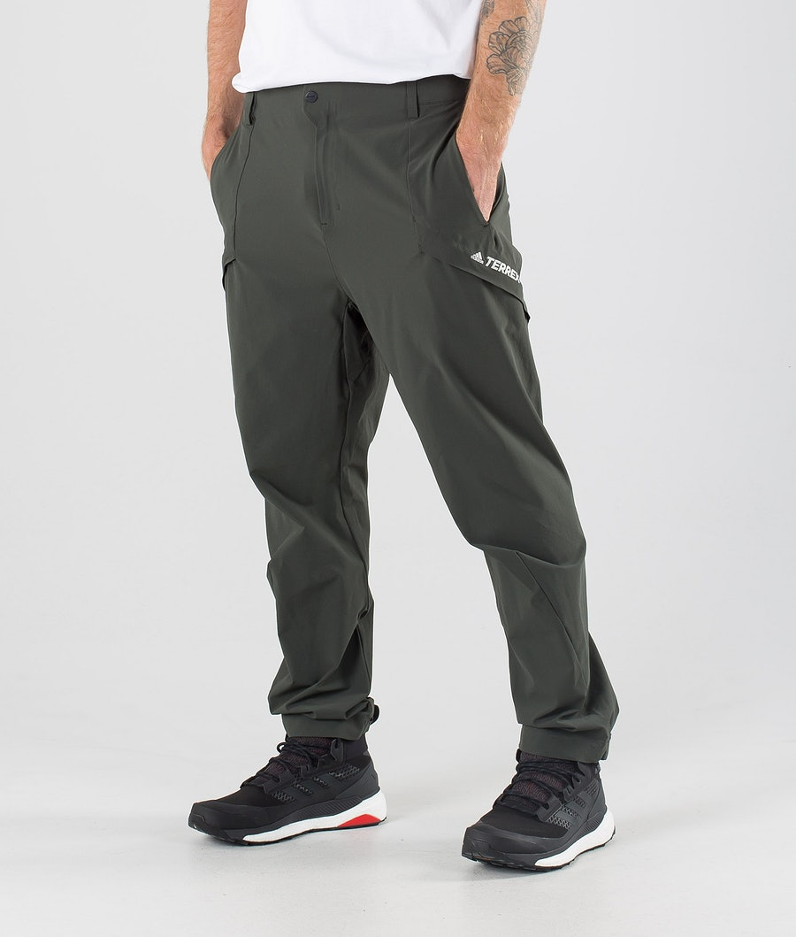 Adidas Terrex Hike Pantaloni Legend Earth