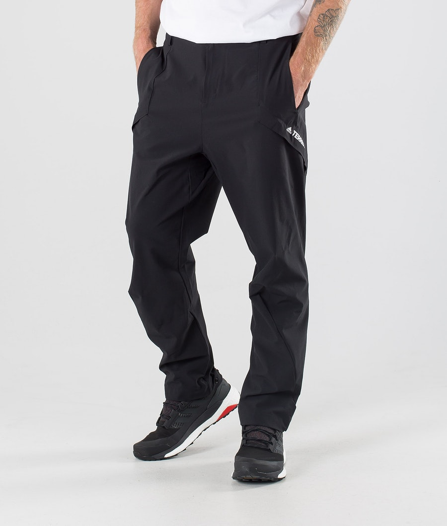 Adidas Terrex Hike Pantaloni Black/Grey Two