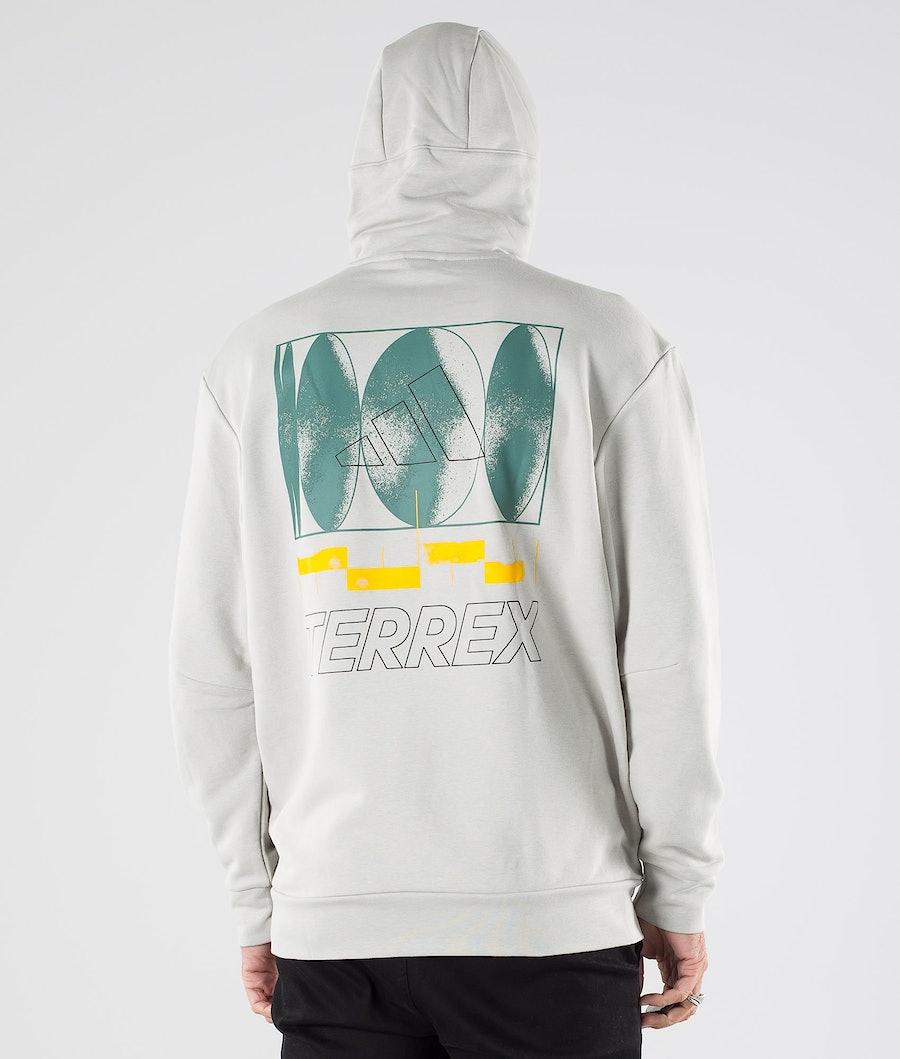 Adidas Terrex Terrex Logo Hood Metal Grey