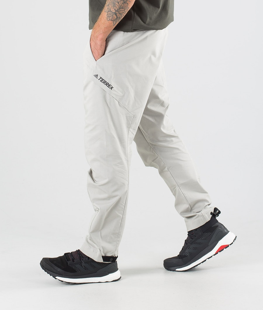 Adidas Terrex Hike Relax Pants Metal Grey