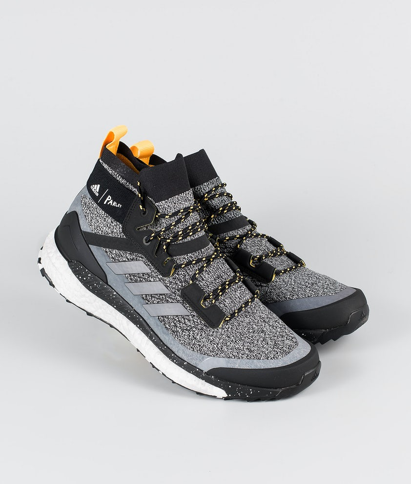 Adidas Terrex Terrex Free Hiker Parley Shoes Core Black/Crystal White/Solar Gold