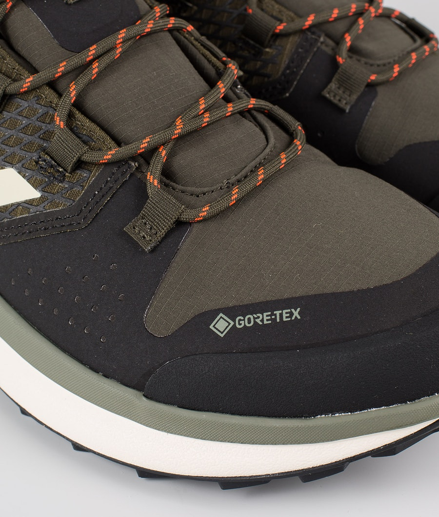 Adidas Terrex Terrex Folgian Hiker GTX Skor Feather Grey/Savannah/Solar Red