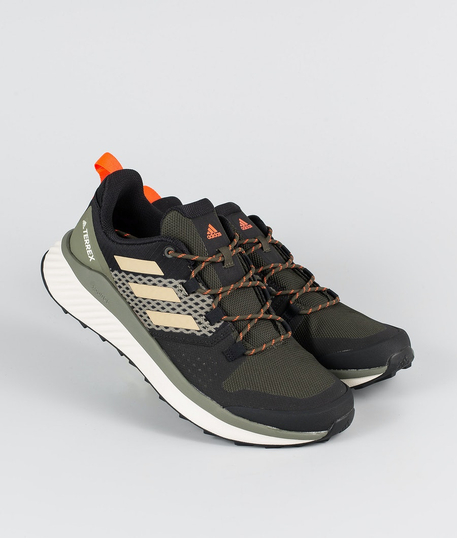 Adidas Terrex Terrex Folgian Hiker Schuhe Feather Grey/Savannah/Solar Red