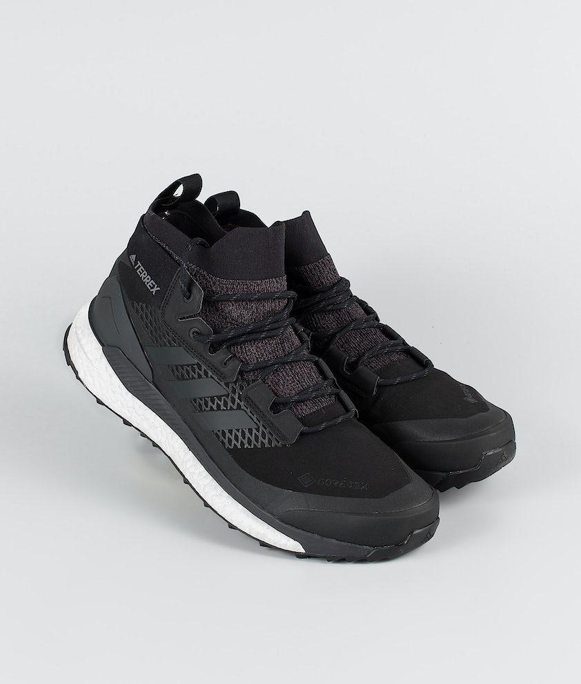 Adidas Terrex Terrex Free Hiker GTX Skor Core Black/Grey Three/Active Orange