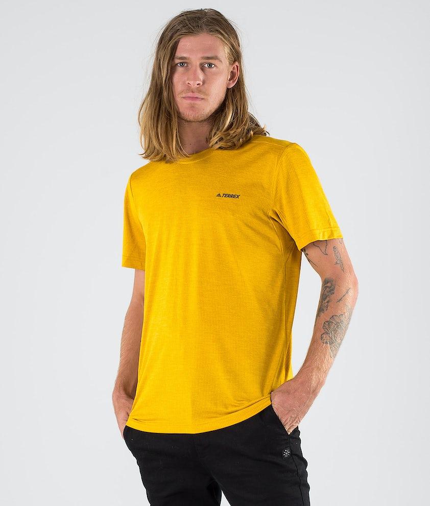Adidas Terrex Tivid T-shirt Legacy Gold