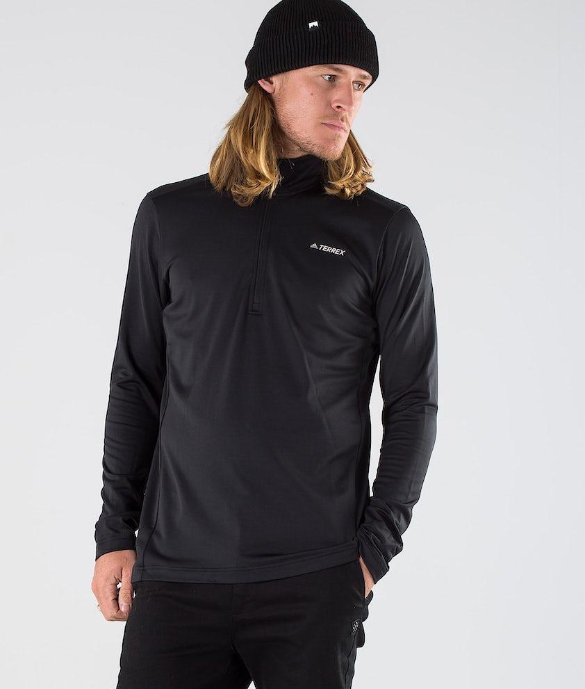 Adidas Terrex EveryHik 1/2 Zip Gensere Black