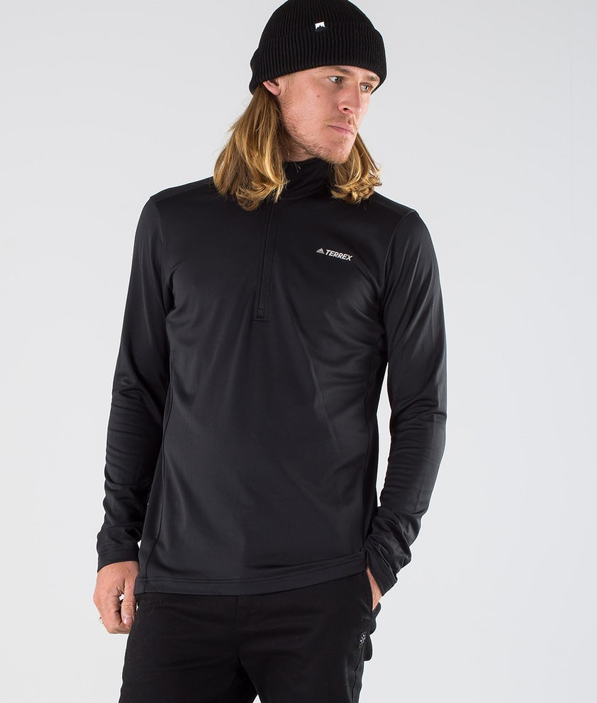 Adidas Terrex EveryHik 1/2 Zip Sweatshirt Black
