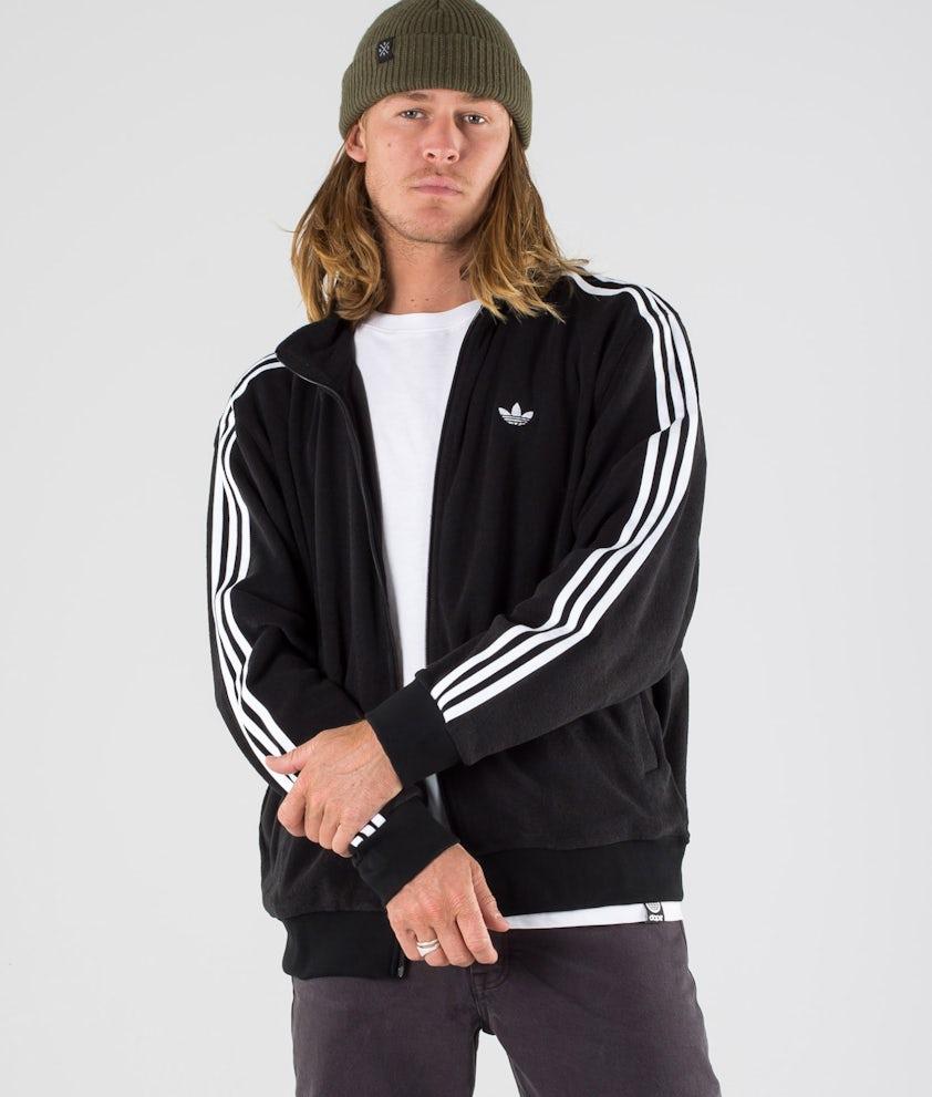 Adidas Skateboarding Bouclette Giacca Black/White