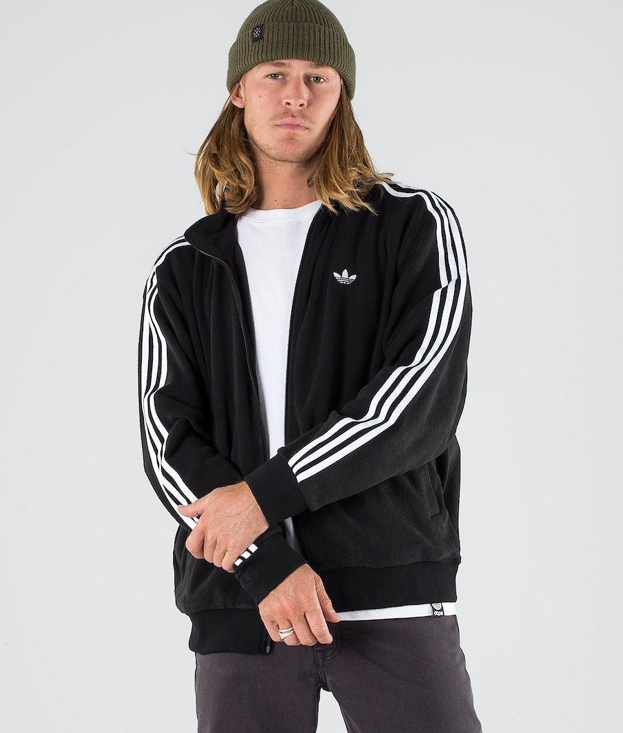 Adidas Skateboarding Bouclette Jacket Black/White
