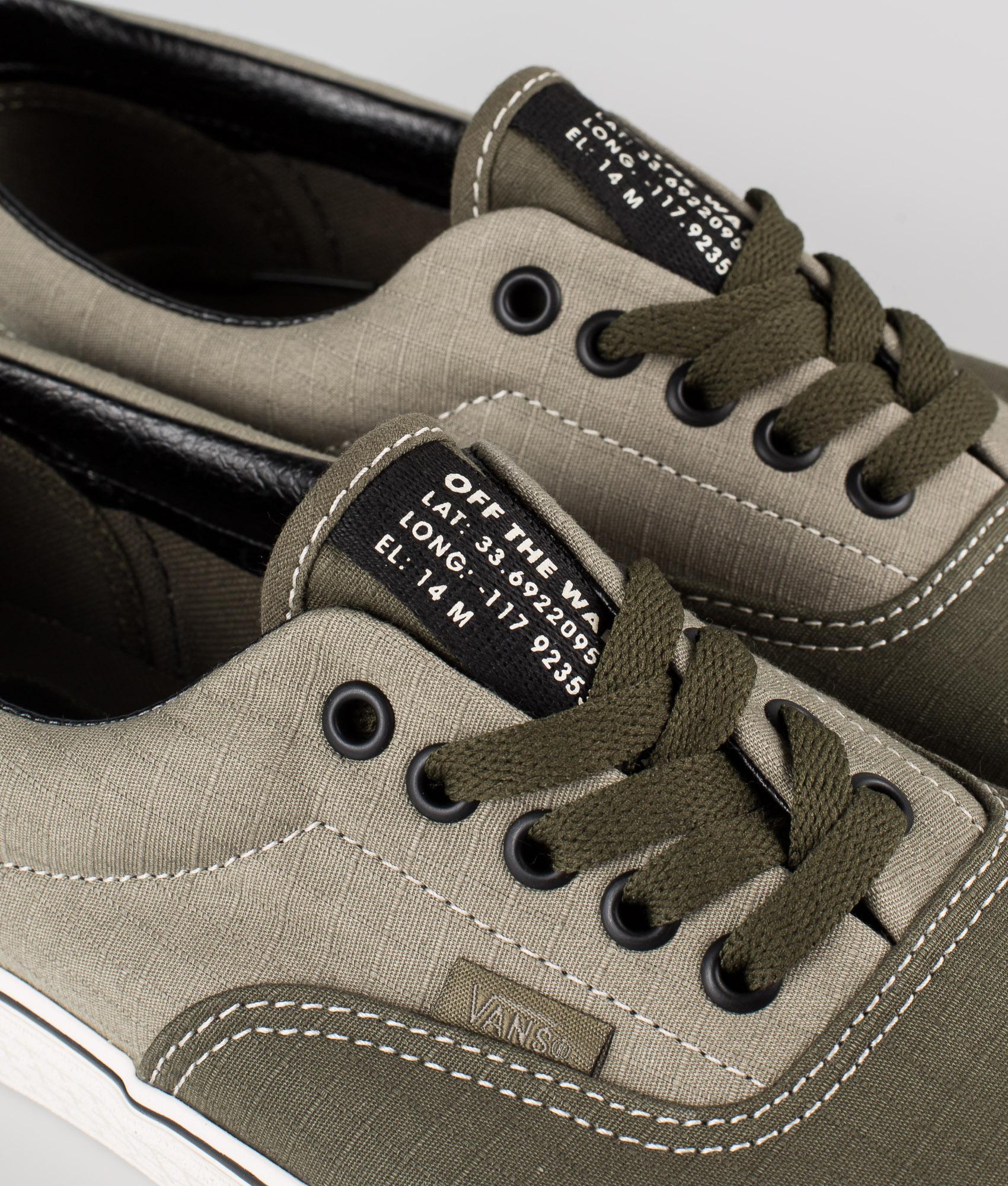 Vans Era Shoes (66 Supply)Vetiver/Grape Leaf   Ridestore.com